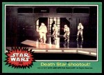 1977 Topps Star Wars #242   Death Star shootout Front Thumbnail