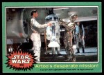 1977 Topps Star Wars #240   Artoo's desperate mission Front Thumbnail