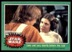 1977 Topps Star Wars #214   Luke and Leia Front Thumbnail