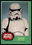 1977 Topps Star Wars #247   Soldier of evil Front Thumbnail
