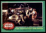 1977 Topps Star Wars #215   Han bows out of the battle Front Thumbnail