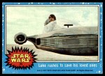 1977 Topps Star Wars #25   Luke rushed to save his loved ones Front Thumbnail