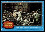 1977 Topps Star Wars #39   Steel walls close in on out heroes! Front Thumbnail
