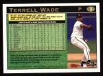 1997 Topps #3  Terrell Wade  Back Thumbnail