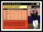 1997 Topps #141  Herb Perry  Back Thumbnail