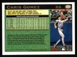 1997 Topps #301  Chris Gomez  Back Thumbnail