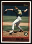1997 Topps #337  Willie Adams  Front Thumbnail