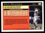 1997 Topps #281  Pat Meares  Back Thumbnail