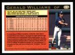 1997 Topps #287  Gerald Williams  Back Thumbnail