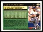 1997 Topps #335  Jeff Fassero  Back Thumbnail