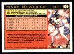 1997 Topps #436  Marc Newfield  Back Thumbnail
