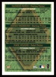 1997 Topps #207  Glendon Rush / Jarrod Washburn / Marc Wilkins  Back Thumbnail