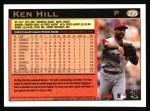 1997 Topps #235  Ken Hill  Back Thumbnail