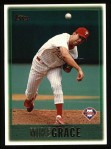 1997 Topps #242  Mike Grace  Front Thumbnail