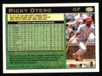 1997 Topps #106  Ricky Otero  Back Thumbnail