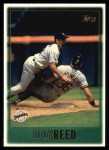 1997 Topps #109  Jody Reed  Front Thumbnail