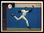 1997 Topps #150  Bernie Williams  Front Thumbnail