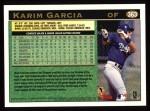 1997 Topps #363  Karim Garcia  Back Thumbnail