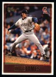 1997 Topps #431  Mike James  Front Thumbnail