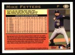1997 Topps #61 B Mike Fetters  Back Thumbnail