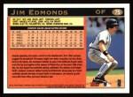 1997 Topps #75  Jim Edmonds  Back Thumbnail