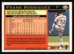 1997 Topps #77  Frank Rodriguez  Back Thumbnail