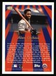 1997 Topps #103  Alex Ochoa  Back Thumbnail