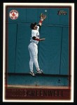 1997 Topps #123  Mike Greenwell  Front Thumbnail