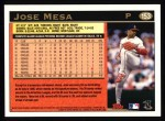1997 Topps #153  Jose Mesa  Back Thumbnail