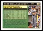 1997 Topps #177  Todd Hollandsworth  Back Thumbnail