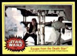 1977 Topps Star Wars #145   Escape from the Death Star Front Thumbnail