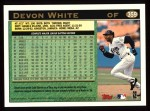 1997 Topps #359  Devon White  Back Thumbnail