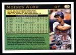 1997 Topps #460  Moises Alou  Back Thumbnail