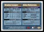 1997 Topps #477  John Patterson / Braden Looper  Back Thumbnail