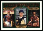 1997 Topps #205  Ben Davis / Kevin Brown / Bobby Estalella  Front Thumbnail