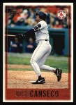 1997 Topps #246  Jose Canseco  Front Thumbnail