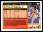 1997 Topps #379  Heathcliff Slocumb  Back Thumbnail
