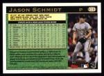 1997 Topps #383  Jason Schmidt  Back Thumbnail