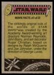 1977 Topps Star Wars #286   Cantina denizens! Back Thumbnail