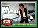 1977 Topps Star Wars #223   Han Solo covers his friends Front Thumbnail