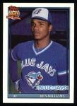 1991 Topps #274  Ken Williams  Front Thumbnail