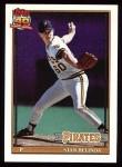 1991 Topps #522  Stan Belinda  Front Thumbnail