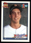 1991 Topps #596  Ronnie Walden  Front Thumbnail