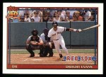 1991 Topps #155  Dwight Evans  Front Thumbnail