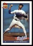 1991 Topps #340  Ramon Martinez  Front Thumbnail