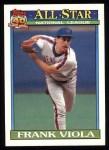 1991 Topps #406   -  Frank Viola All-Star Front Thumbnail
