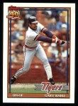 1991 Topps #556  Gary Ward  Front Thumbnail
