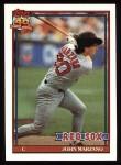 1991 Topps #574  John Marzano  Front Thumbnail