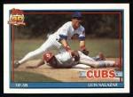 1991 Topps #614  Luis Salazar  Front Thumbnail