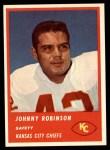 1963 Fleer #51  Johnny Robinson  Front Thumbnail